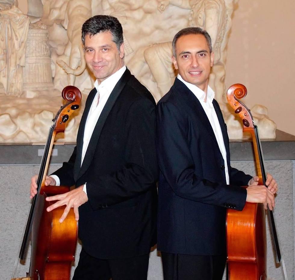 Duocellando, violinisti
