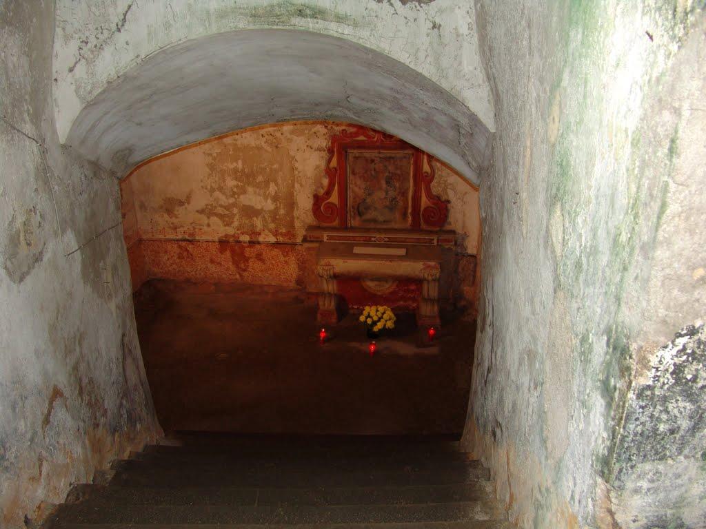 Santa Maria del Pozzo, Cripta