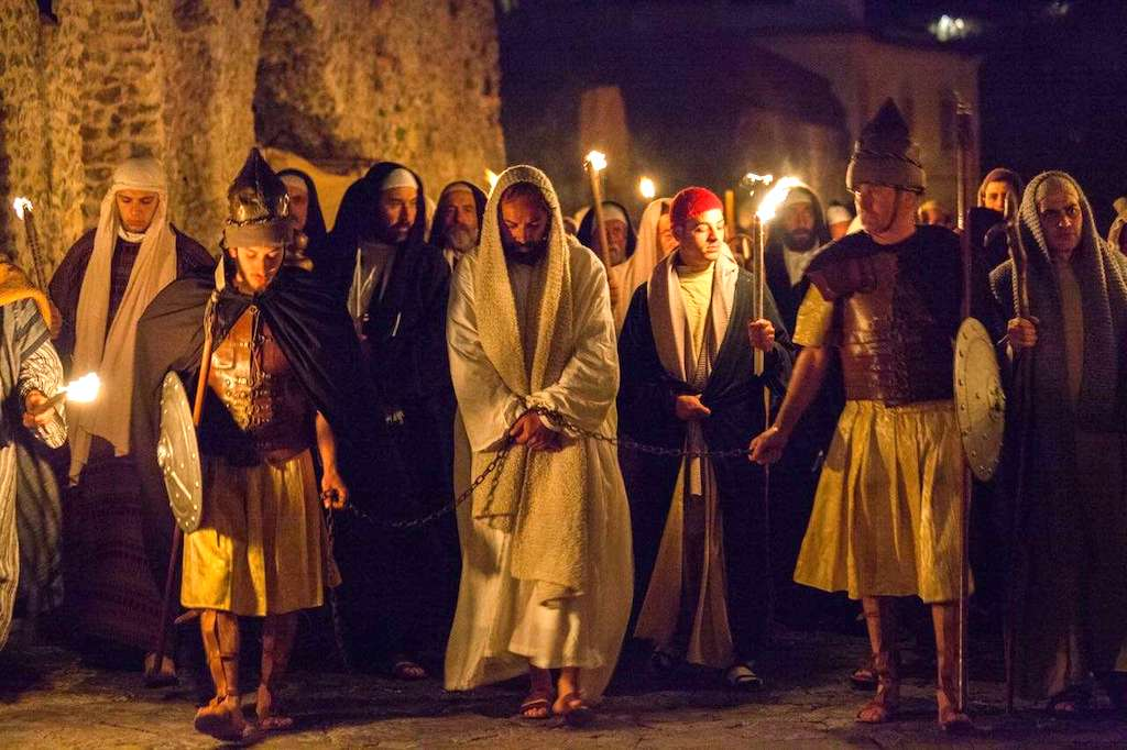 Via Crucis in costume a Ravello