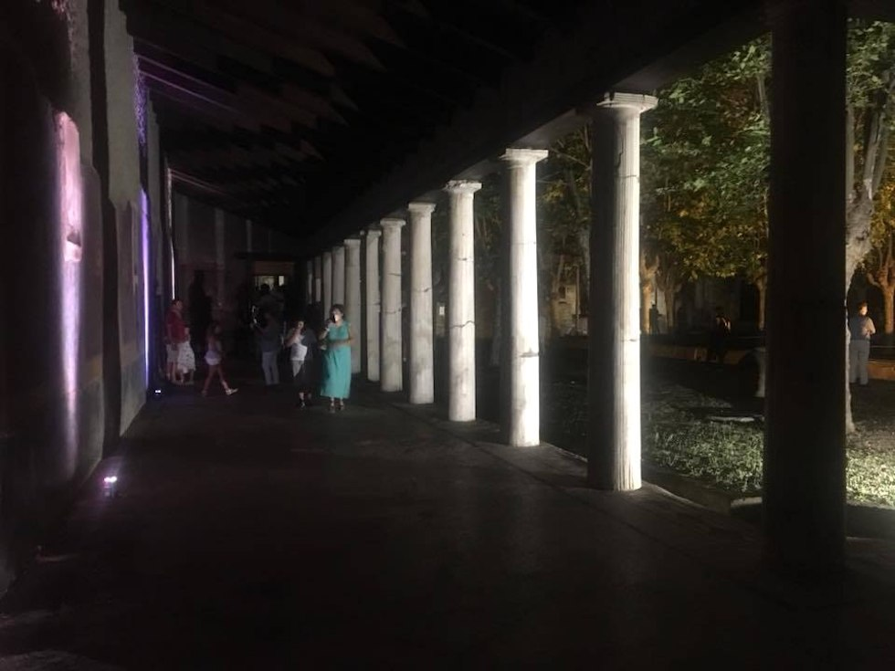 Villa San Marco di Notte