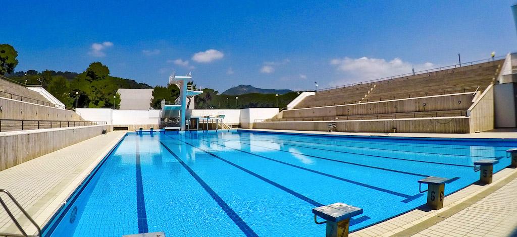 Riapre a Napoli la Piscina Olimpionica della Mostra d'Oltremare