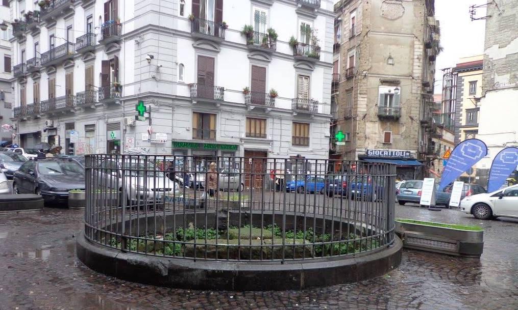 Cippo di Forcella Piazza Calenda Napoli