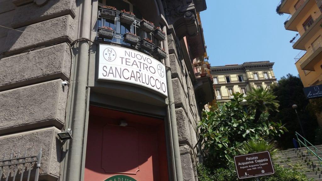 Nuovo Teatro Sancarluccio Napoli