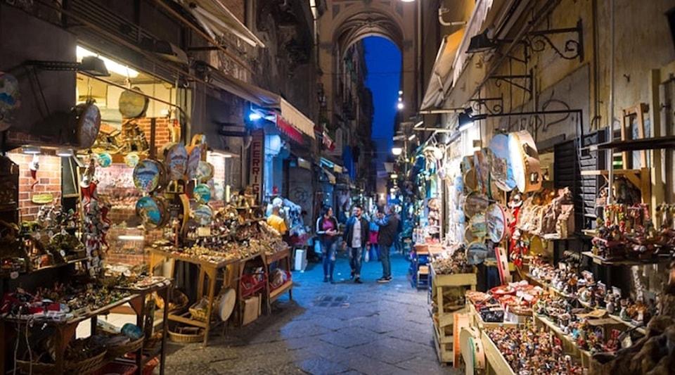 San Gregorio Armeno Napoli Fiera di Natale