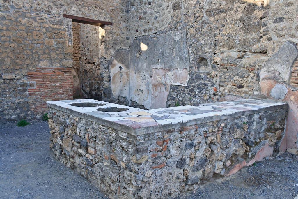 Taberna a Pompei