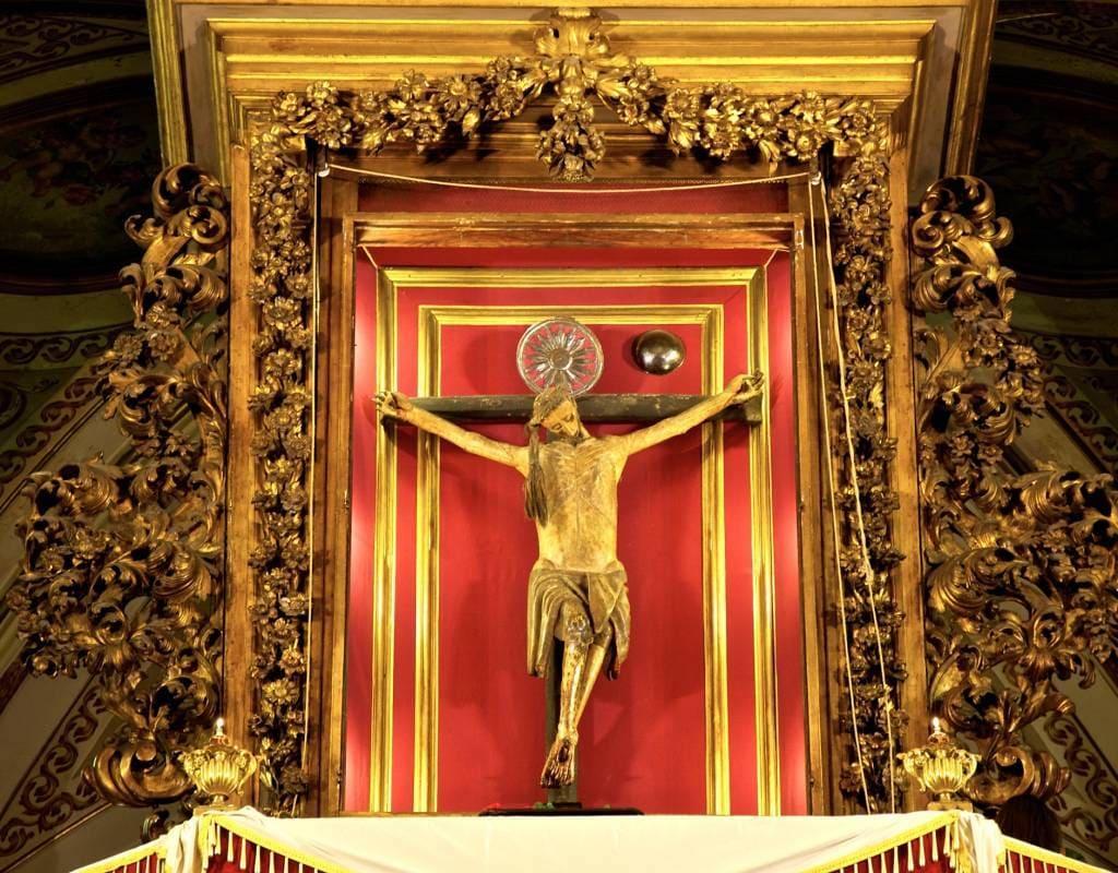 Crocifisso Miracoloso Basilica del Carmine
