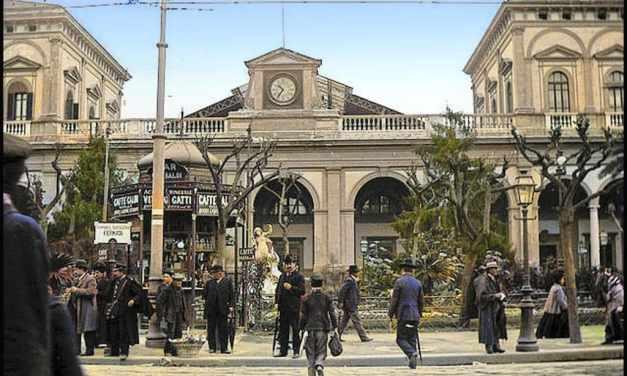 Stazione centrale di Napoli storia