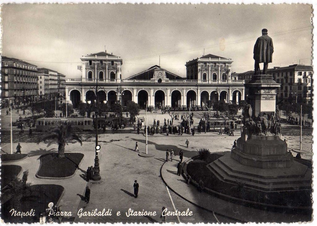 L'antica Stazione Centrale di Napoli