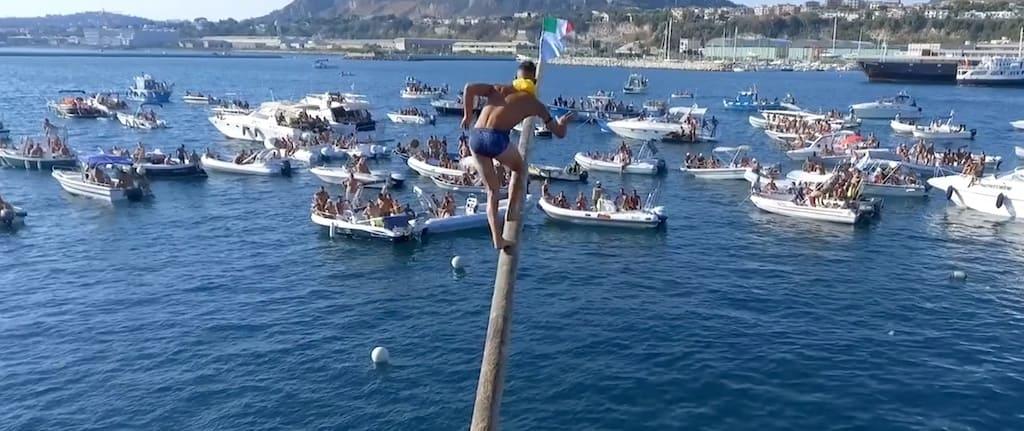 Festa del Pennone a mare Pozzuoli