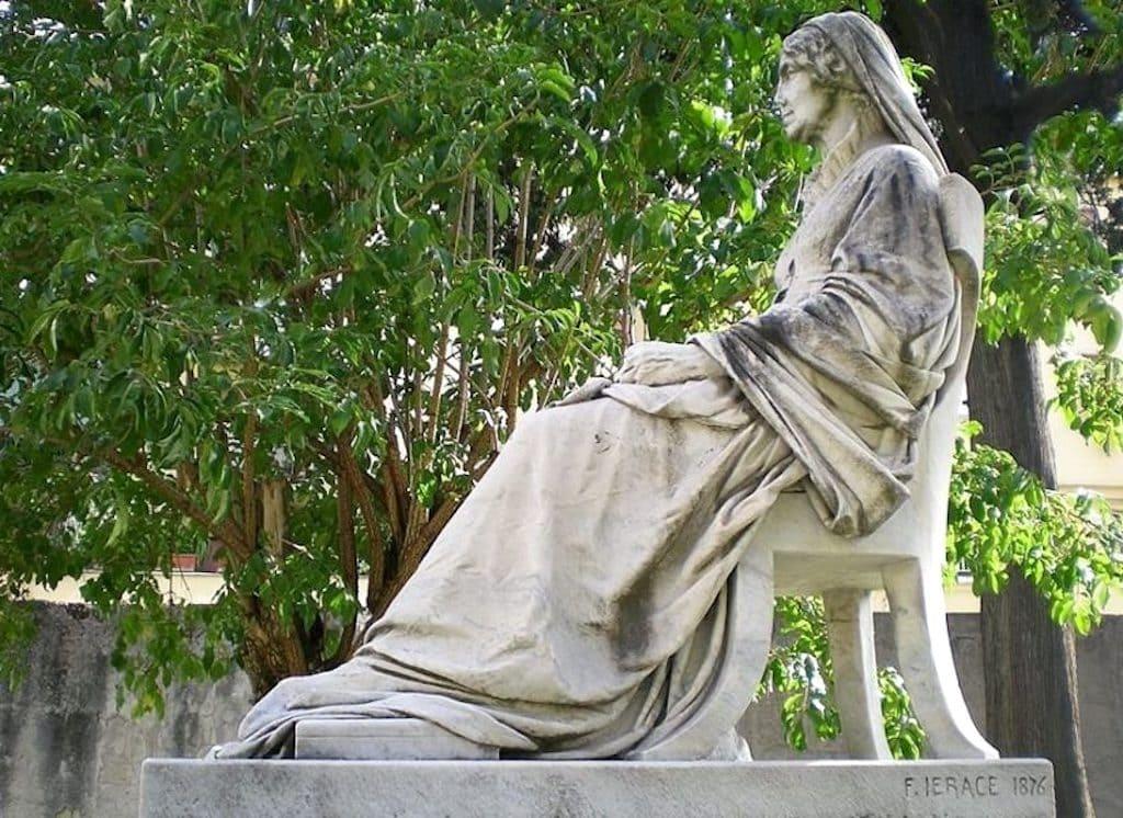 Astronoma ingleseMary Somerville di Francesco Jerace