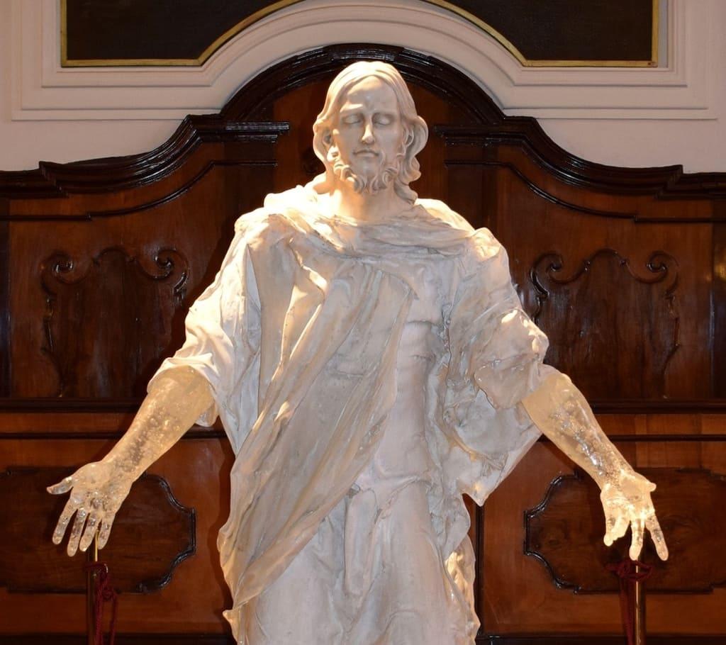 Cristo Svelato, Real Monte Menso di Scala