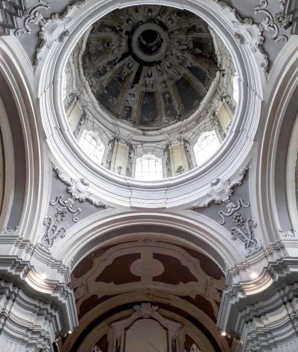 Sant'Aspreno dei Crociferi cupola
