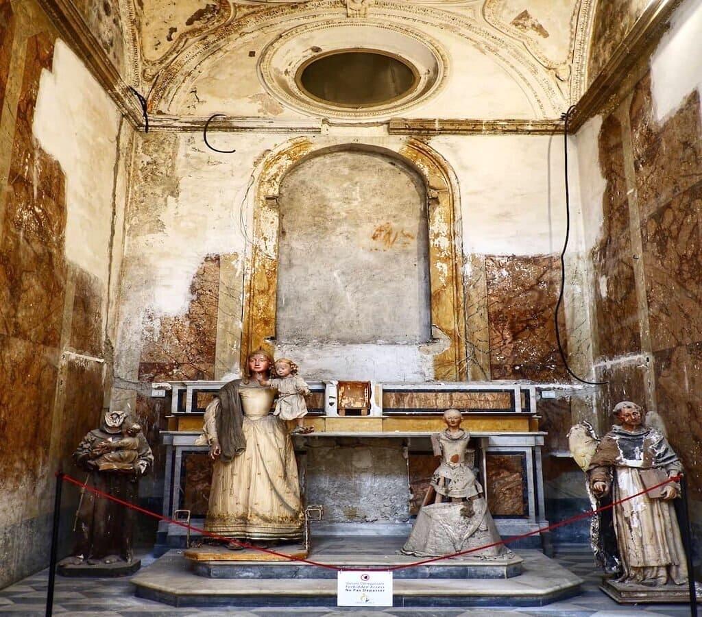 Chiesa Gesu e Maria Napoli