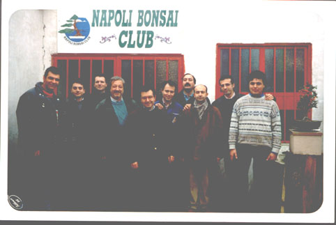 Soci fondatori del Napoli Bonsai Club