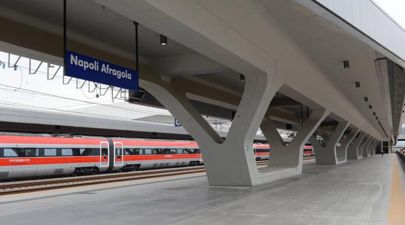 """Linea 10 MetropoNapoli: """"Nuovo collegamento tra la stazione AV di Afragola e la rete metropolitana di Napoli"""""""