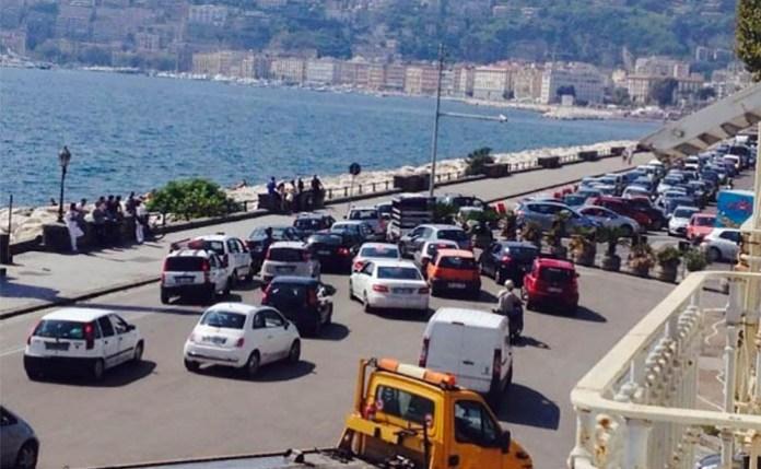 Conateco, traffico paralizzato area portuale Napoli