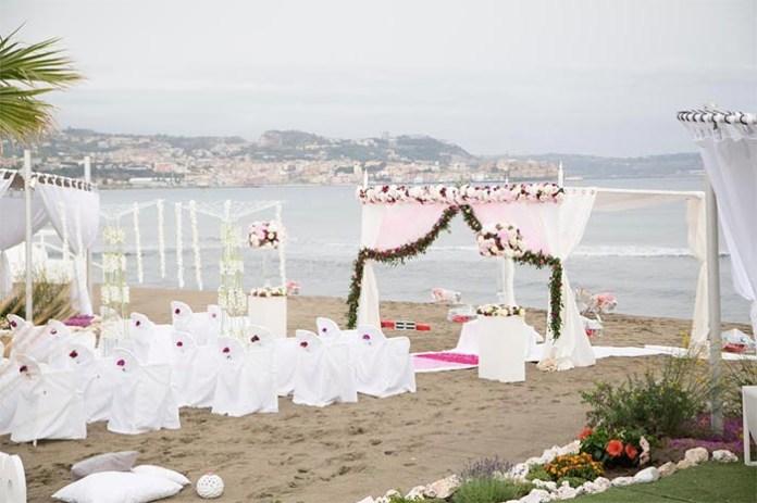 Campi Flegrei: ecowedding sulla spiaggia al Kora di Pozzuoli