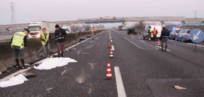 Incidente Asse Mediano: una vittima travolta da un auto