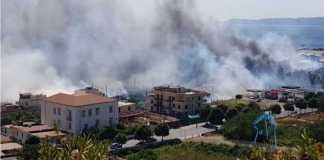 Incendio Torre del Greco