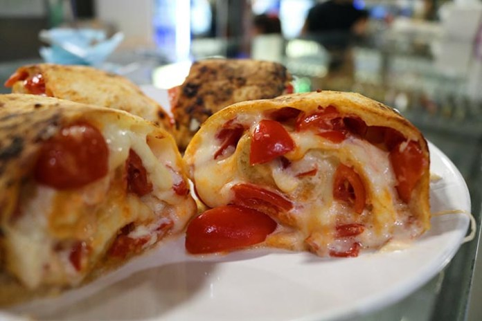 """Infinity giri di pizza, """"Summer edition"""": il rivoluzionario involtino allo yogurt greco"""