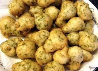 Ricetta frittelle o zeppoline alle alghe di mare, napoletane!