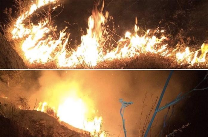 Incendio a Ischia dal 3 agosto