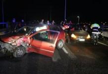 Incidente sull'Asse Mediano: tamponato in corsia d'emergenza