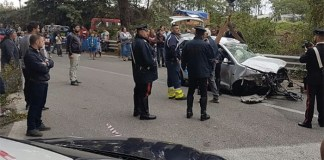 Incidente a Qualiano: violento schianto, un ferito