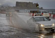 Previsioni Meteo: la Protezione Civile proroga l'allerta a Napoli