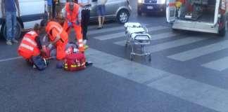 Chiaia, incidente stradale: uomo investito sulle strisce pedonali