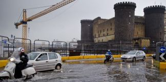 Meteo Napoli: diramata allerta meteo dalla Protezione Civile