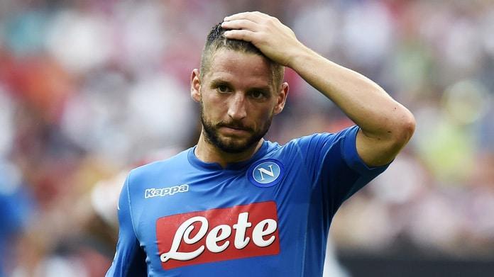 Calcio Napoli: le condizioni di Dries Mertens dopo l'infortunio