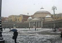 Meteo Napoli, ritorna la Neve e dopo la pioggia