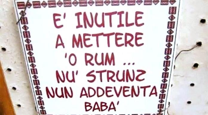 """""""Hai voglia 'e mettere rum..."""" conosci il vero significato di questo detto napoletano?"""