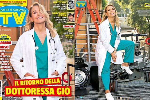 """Barbara D'Urso rinuncia alle ferie per la """"Dottoressa Giò"""""""