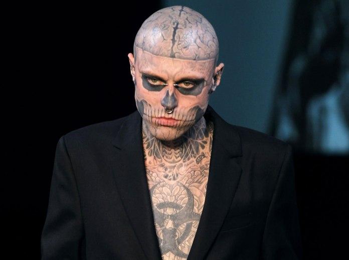Zombie Boy è morto: il 32enne reso celebre da Lady Gaga