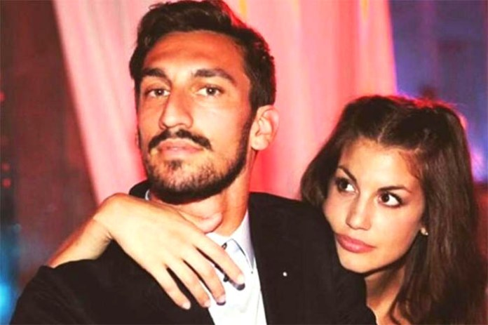"Davide Astori, la compagna Francesca. ""So di averlo reso felice"""