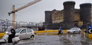 Meteo Napoli: ottobre inaugurato dalla pioggia