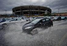 Allerta meteo a Napoli: in arrivo piogge e raffiche di vento