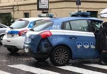 Incidente a Santa Lucia: smart contro auto della Polizia