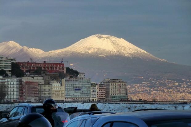 Meteo Napoli: la neve potrebbe tornare a cadere
