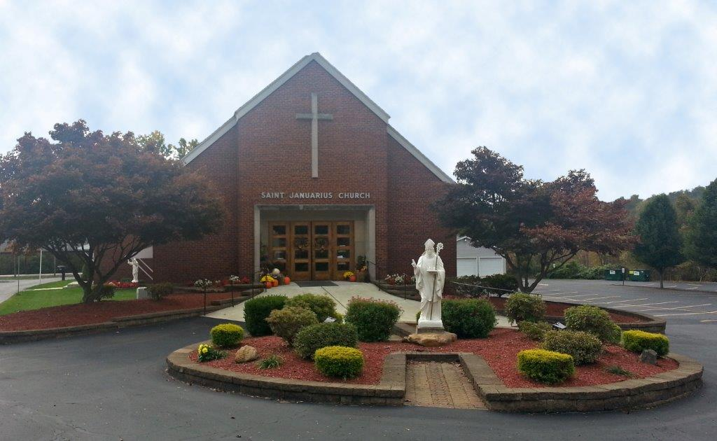 Chiesa di San Gennaro (St Januarius Catholic Church) a Pittsburg, PA, USA