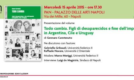 Al PAN di Napoli la presentazione del libro di Gennaro carotenuto