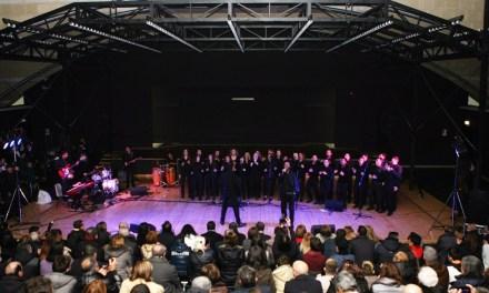 Grande spettacolo e molte emozioni all'Auditorium di Scampia per il Coro del San Carlo diretto dal maestro Morelli