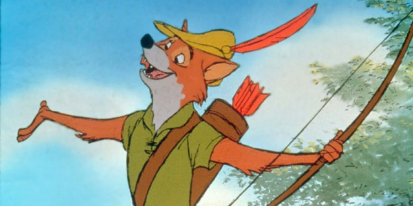 """Dal film d'animazione """"Robin Hood"""" della Disney (1973)."""