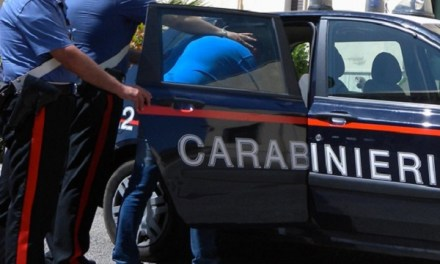 Aversa : arrestati due ladri in flagranza di reato