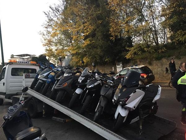 Vasta operazione di controllo della polizia municipale di - Divauto via emilio scaglione ...