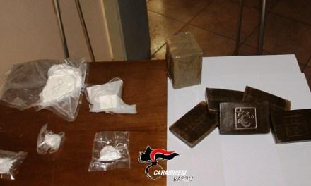 Vomero: arrestata ragazza per detenzione di cocaina ed hashish