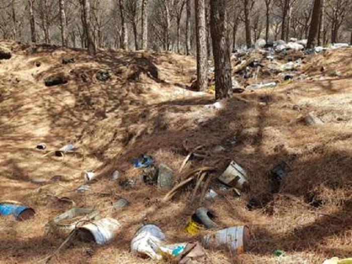 Sversamento illegale nell'area del Parco del Vesuvio, tre denunciati