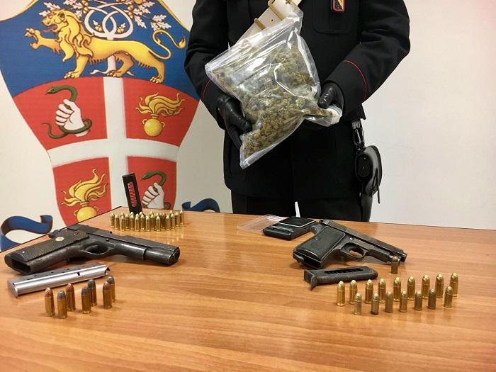 Pistole e droga agli Astroni: due arresti